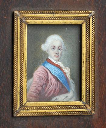 Неизвестный художник. Портрет Павла I. 1770-е гг.
