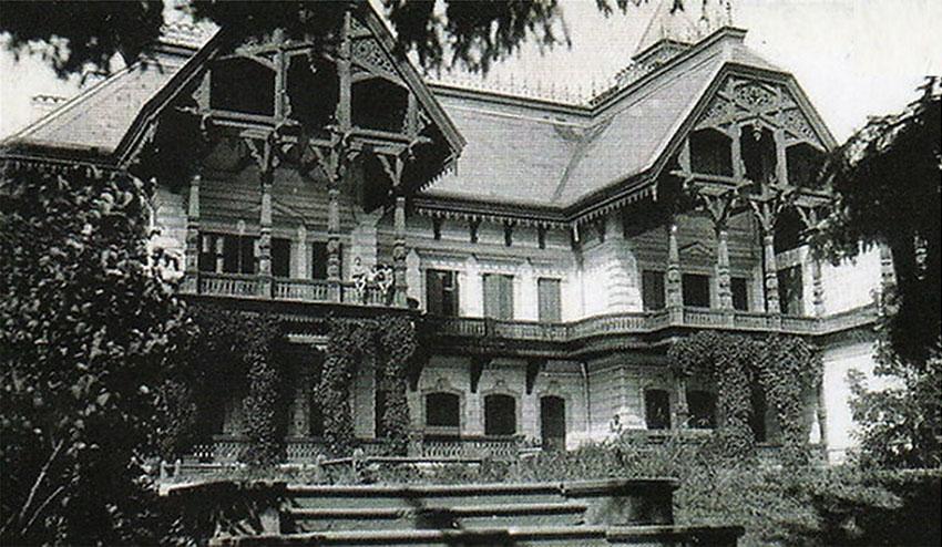 Усадебный дом в имении П.И. Харитоненко «Натальевка»
