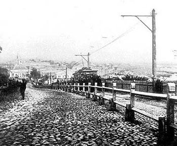 Александровский спуск. 1892
