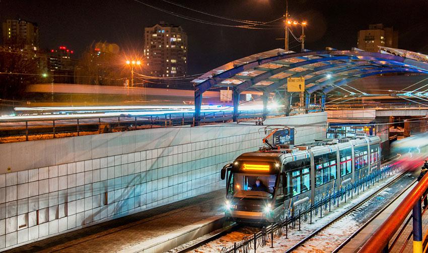 Трамвай Завода «Электронтранс»